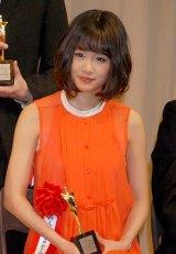 『第21回 日本映画批評家大賞』で新人賞を受賞したAKB48・前田敦子 (C)ORICON DD inc.