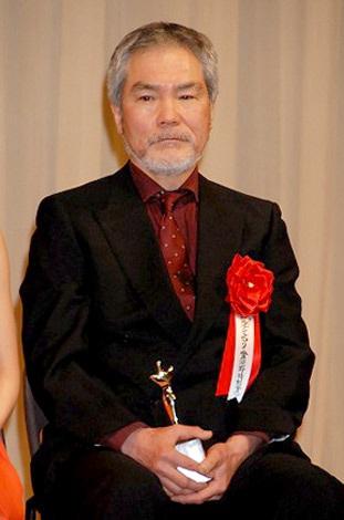 『第21回 日本映画批評家大賞』授賞式に出席した蟹江敬三 (C)ORICON DD inc.