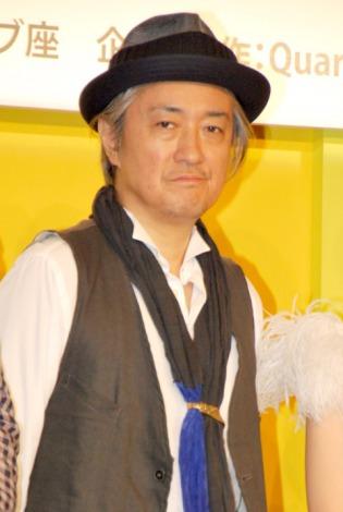 舞台『灰色のカナリア』制作発表会見に出席した山路和弘 (C)ORICON DD inc.