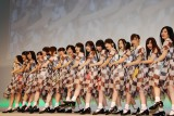 HTC新製品発表会で新曲を披露した乃木坂46 (C)ORICON DD inc.