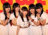 東京でライブを行った「LinQ Qty」のメンバー。左から坂井朝香、姫崎愛未、高木悠未、瑞稀もえ、天野なつ(C)ORICON DD inc.