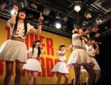 はつらつとしたダンスと歌を披露する「LinQ Qty」(C)ORICON DD inc.