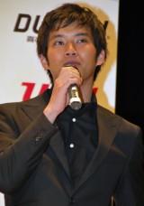 『第3回 日本シアタースタッフ映画祭』授賞式にゲスト出演した三浦貴大 (C)ORICON DD inc.