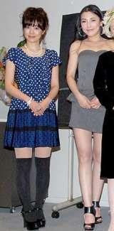 映画『シェリー』完成披露試写会の舞台あいさつに登場した(左から)さとう珠緒、福山理子 (C)ORICON DD inc.