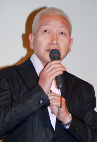 映画『シェリー』完成披露試写会の舞台あいさつに登場したビートきよし (C)ORICON DD inc.