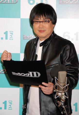 映画『ミッシングID』のCMナレーションのアフレコに初挑戦した六角精児 (C)ORICON DD inc.