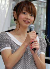 『おかず日本一決定戦 おかずの星☆2012』開催記念トークイベントに出席した眞鍋かをり