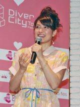 『mama fes loves ダイバーシティー東京プラザ』トークショーに出席した乙葉 (C)ORICON DD inc.
