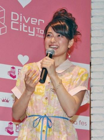 サムネイル 『mama fes loves ダイバーシティー東京プラザ』トークショーに出席した乙葉 (C)ORICON DD inc.