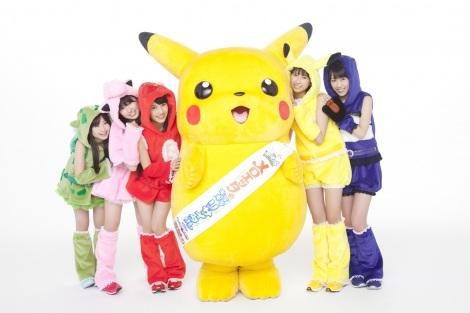ももいろクローバーZがテレビアニメ『ポケットモンスター ベストウイッシュ』(5月17日よりO.A.)と短編『メロエッタのキラキラリサイタル』(7月14日公開)のEDテーマに決定&新ビジュアル解禁 (C)Nintendo・Creatures・GAME FREAK・TV Tokyo・ShoPro・JR Kikaku (C)Pokemon (C)2012ピカチュウプロジェクト