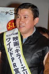 映画『キラー・エリート』のイベントに出席したスギちゃん (C)ORICON DD inc.