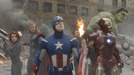 全米オープニングで2億ドル突破! 歴代首位発進となった映画『アベンジャーズ』/TM & (C) 2012 Marvel & Subs.