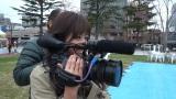 自らカメラを回して…、ドキュメンタリー番組『情熱大陸』の企画でディレクター業に初挑戦した井上真央(C)MBS
