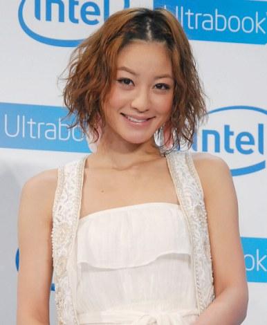 サムネイル インテル『Ultrabook』のイベントに出席した西山茉希 (C)ORICON DD inc.
