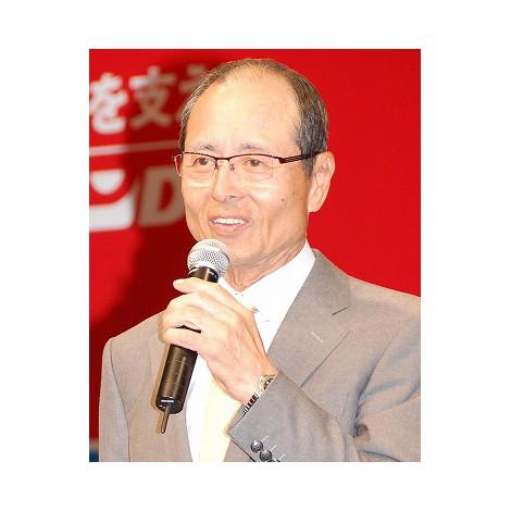 『リポビタンD』50周年記念会見に出席した王貞治 (C)ORICON DD inc.