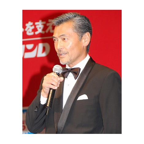 『リポビタンD』50周年記念会見に出席した渡辺裕之 (C)ORICON DD inc.