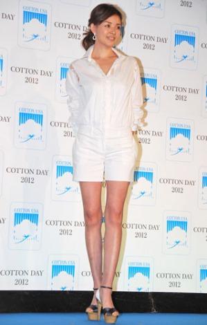 『COTTON USA AWARD 2012』授賞式に出席したSHIHO (C)ORICON DD inc.