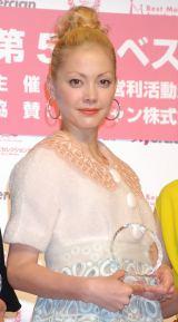 『第5回 ベストマザー賞』授賞式に出席した土屋アンナ (C)ORICON DD inc.