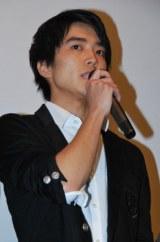 入川保則さんの遺作映画の舞台あいさつに登壇した大和田健介 (C)ORICON DD inc.