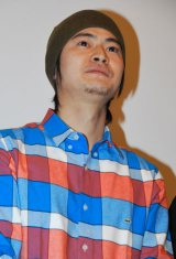 入川保則さんの遺作映画の舞台あいさつに登壇した窪塚俊介 (C)ORICON DD inc.