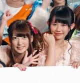 SUPER☆GiRLS(左から)八坂沙織、勝田梨乃