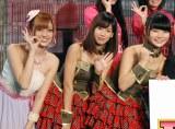 アイドリング!!!(左から)菊地亜美、遠藤舞、朝日奈央