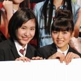 さくら学院(左から)飯田來麗、堀内まり菜