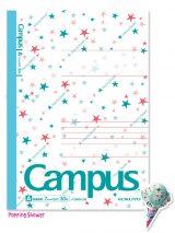 サーティワンアイスクリームとコラボした『限定柄キャンパスノート<サーティワン>5色パック』(写真は「ポッピングシャワー」)