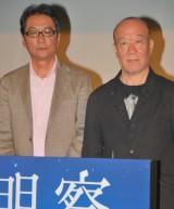 映画『天地明察』製作報告記者会見に出席した(左から)滝田洋二郎監督と久石譲 (C)ORICON DD inc.