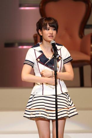 前回1位の前田敦子は「私のことは嫌いでも、AKBのことは嫌いにならないでください」と涙のスピーチ