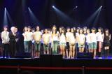 初公演前のゲネプロ終了後、取材に応じるメンバーたち(C)JKT48 Project