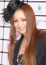 髪型を手本にしたい女性有名人ランキング、6位に選ばれた安室奈美恵 (C)ORICON DD inc.