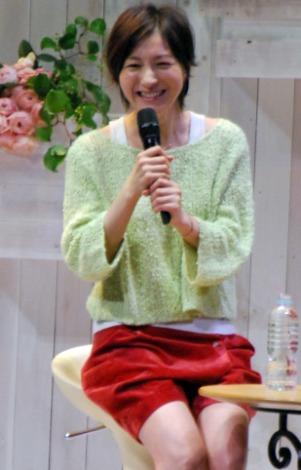 広末涼子が宝島社『InRed』女子力アップイベントで30代女子トーク (C)ORICON DD inc.