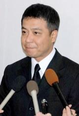 今月3日に米ハワイの事故で急死した長良じゅん会長の本葬に参列した中山秀征 (C)ORICON DD inc.