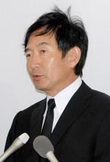 長良じゅん会長の本葬に参列した石田純一 (C)ORICON DD inc.