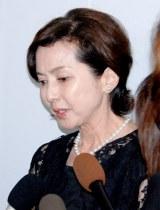 長良じゅん会長の本葬に参列した多岐川裕美 (C)ORICON DD inc.