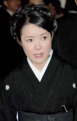 長良じゅん会長の本葬に参列した田川寿美 (C)ORICON DD inc.