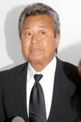 長良じゅん会長の本葬に参列した梅宮辰夫 (C)ORICON DD inc.