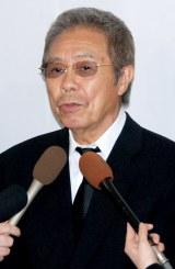 長良じゅん会長の本葬に参列した北島三郎 (C)ORICON DD inc.