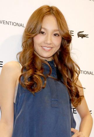 ラコステ渋谷のオープンレセプションに出席したgirl next doorの千紗 (C)ORICON DD inc.