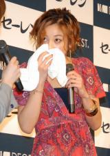 高性能消臭アンダーウェアブランド『DEOEST』の新商品発表会に出席した西山茉希 (C)ORICON DD inc.