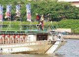 DSC_0231東京・隅田川上でスカイツリーをバックに『YOSAKOIソーラン祭り・水上PR大作戦』を行った遊助 (C)ORICON DD inc.
