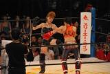 """リングネーム""""六本木シンデレラ""""として格闘家デビューを飾ったあやまん監督 (C)ORICON DD inc."""