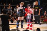 対戦相手は女子格闘技界で注目の現役女子高生ファイターMIO (C)ORICON DD inc.