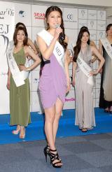 『2012ミス・アース』の日本代表ファイナリストに選ばれた下地あいのさん (C)ORICON DD inc.
