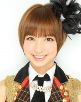 5位にランクインした篠田麻里子(AKB・A)