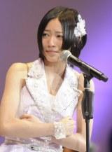 『第4回AKB選抜総選挙』9位のSKE48兼AKB48の松井珠理奈 (C)ORICON DD inc.
