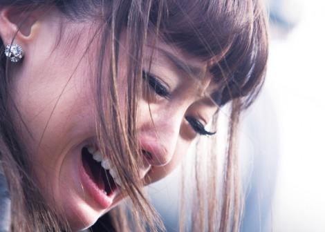 沢尻エリカ泣きシーン