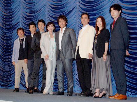 映画『臨場 劇場版』完成披露試写会の舞台あいさつの模様 (C)ORICON DD inc.