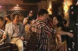 中国映画『101次求婚』武田鉄矢の出演シーンの撮影風景(写真提供:フジテレビ)